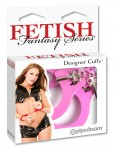 Fetish Fantasy Pink Metal Cuffs