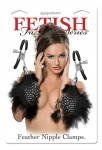 Fetish Fantasy Feather Nipple Clamp