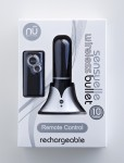 Sensuelle Remote Bullet Black 10 Functions
