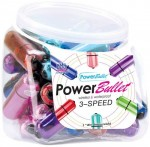 Power Bullet 30pc Bowl Asst Colors