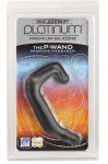Platinum Silicone P Wand Charcoal