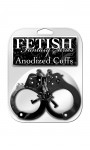 Fetish Fantasy Anodized Cuffs Black