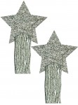 Pastease Star Tassel Silver